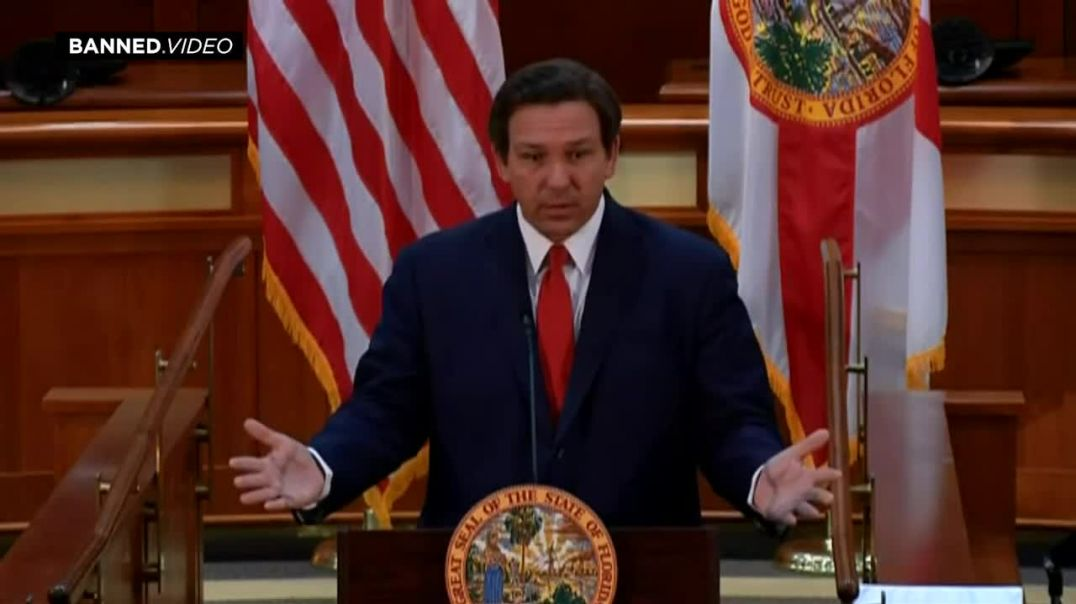 Gov Ron DeSantis Lays Out Plan To Crackdown On Big Tech Cartel