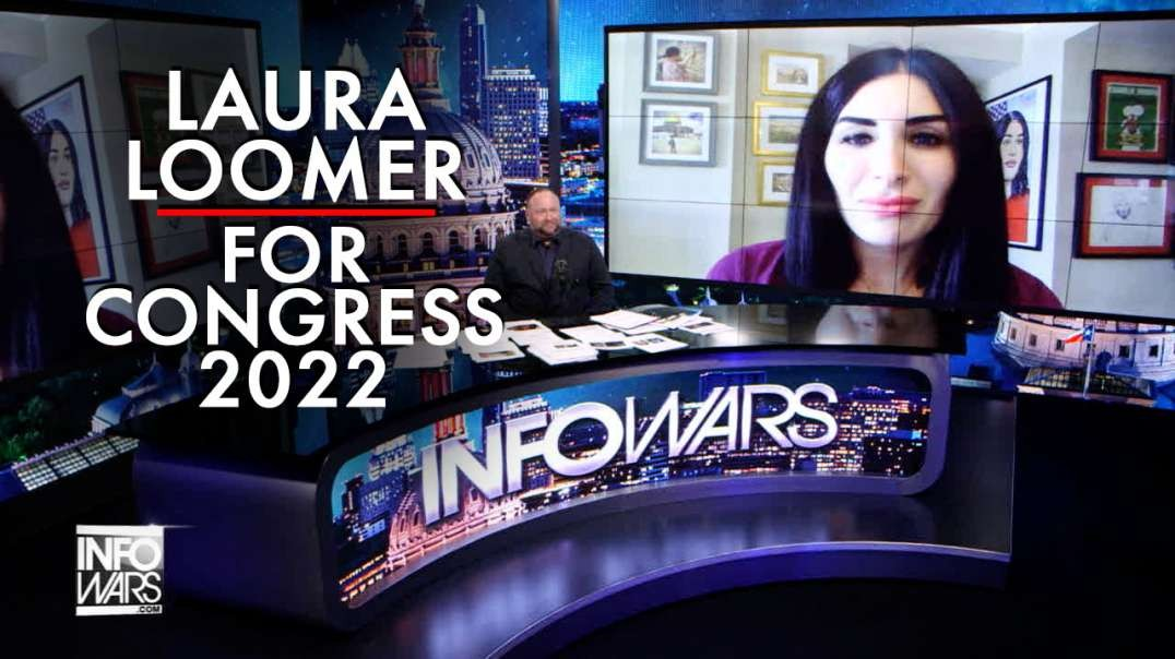 Exclusive- Laura Loomer Announces 2022 Run for Congress