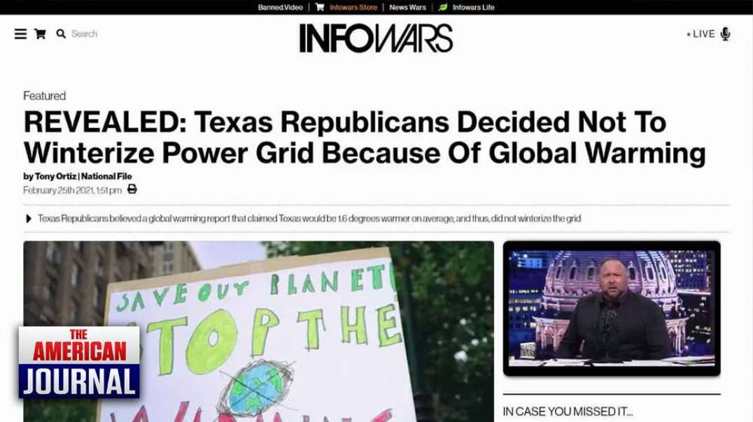 Liberal Media Continues to Lie About Texas Power Outage