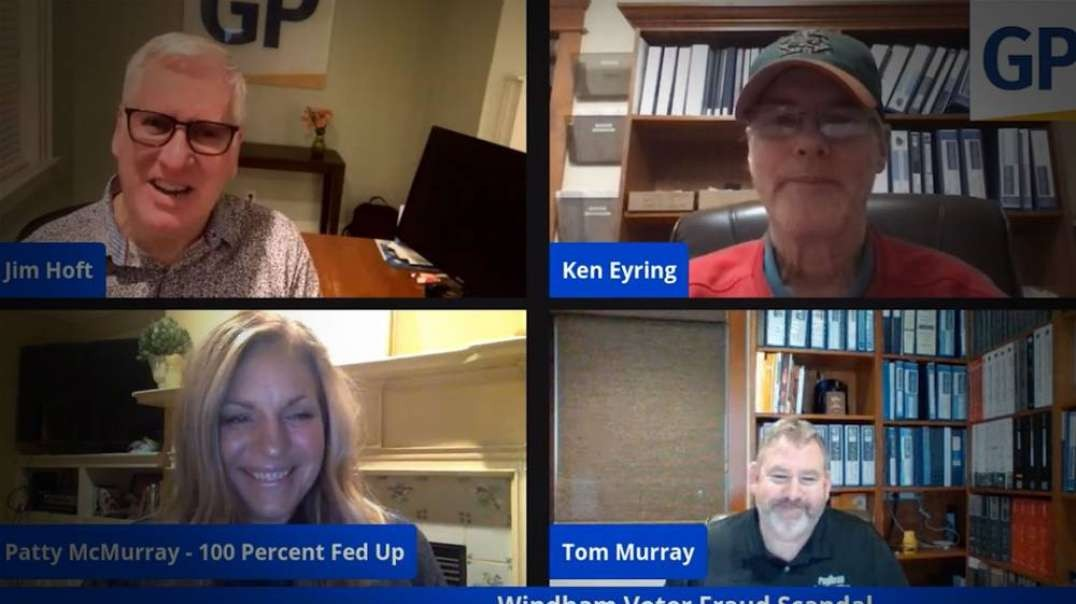 "Election Fraud Witnesses Discuss Scandal with ""Gateway Pundit"" and ""100% Fed Up"""