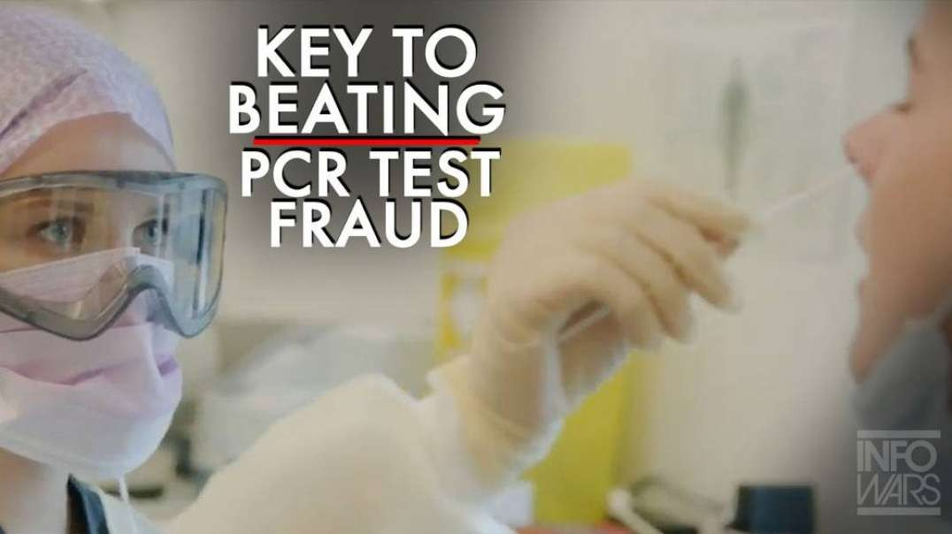 ⁣The Key to Beating the PCR Test Fraud