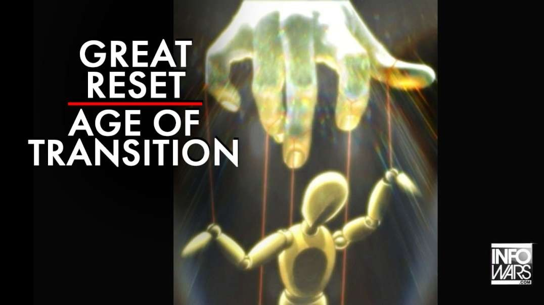 The Great Reset is Happening During the Age of Transition