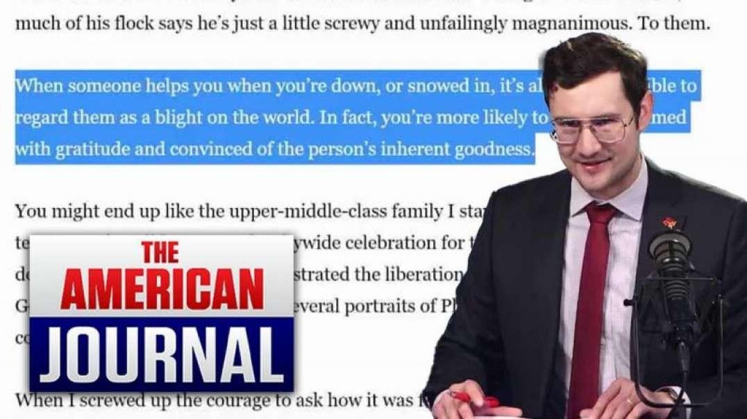 Liberal Scumbag Calls Kind Neighbors Blight on the World