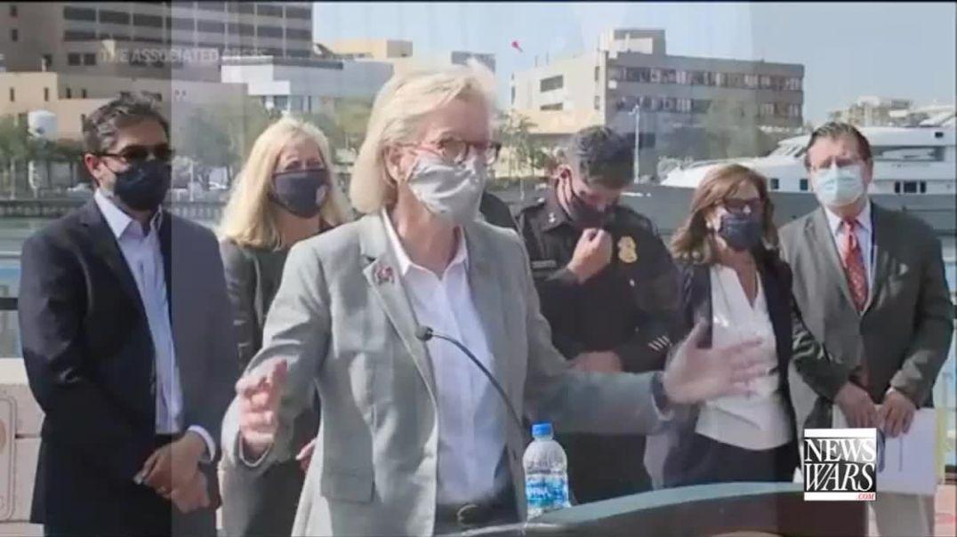 Fauci Announces Permanent Masks-Tucker Carlson Exposes Illegals Exempt