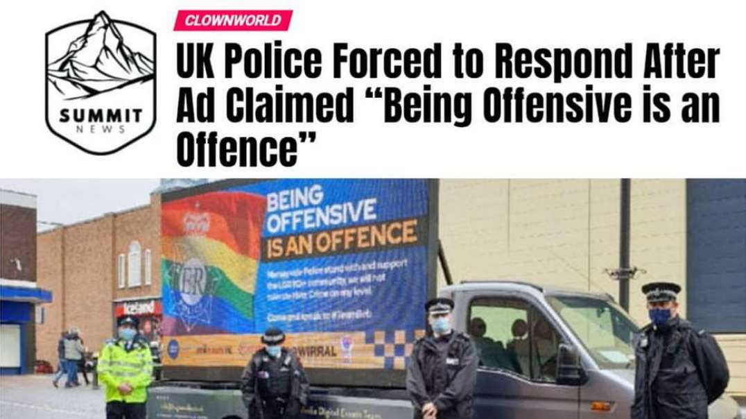 UK Police Force Admit Being Offensive Is Not a Crime