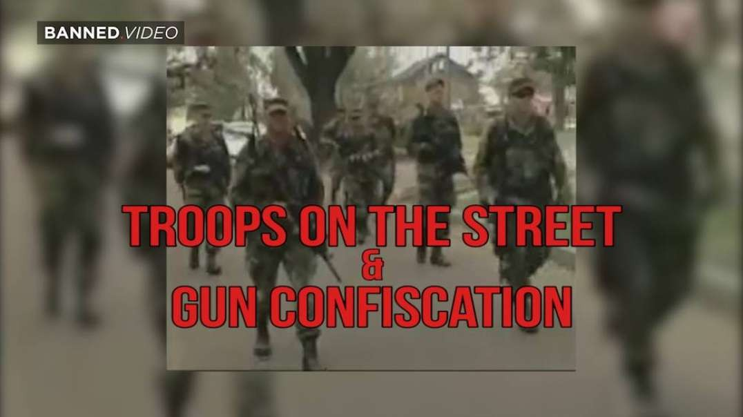 Troops On The Streen and Gun Confiscations: 15 Years Ago