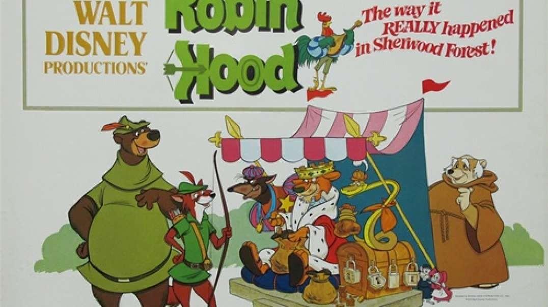 Tecknat Barn Svenska:Robin Hood (1973) DVDRIPPEN (Svenska) Trailer (4K)