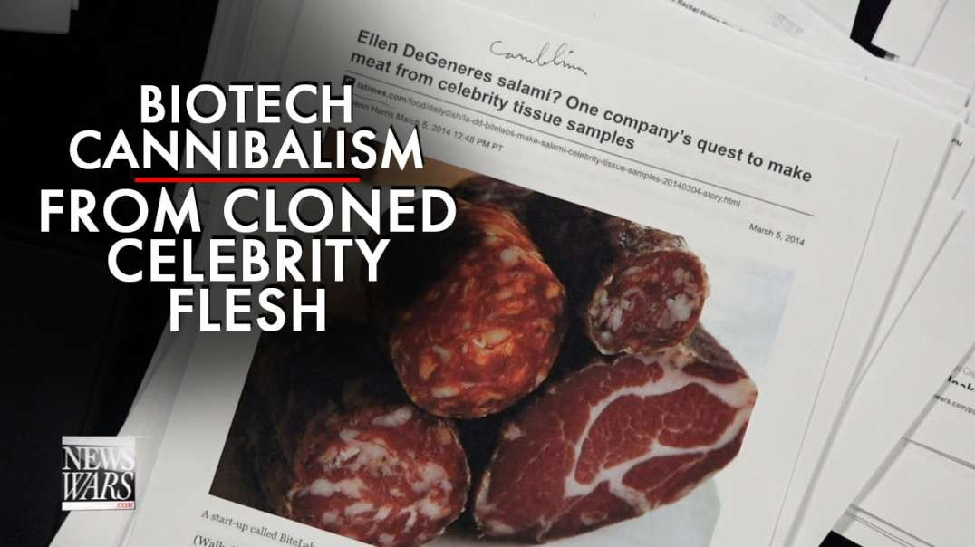 Cannibalism! Biotech to Feed Cloned Meat of Celebrities to Public
