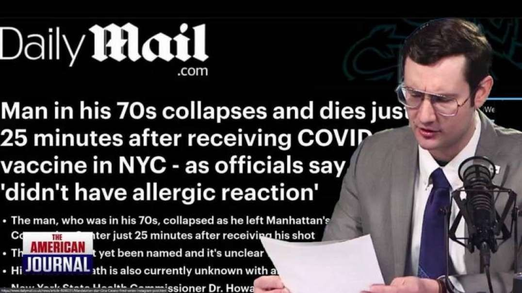 MSM Blackout, As More Adverse Vaccine Effects Come To Light