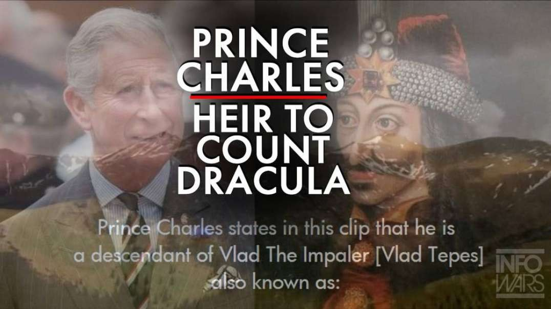 ⁣MSM Admits Prince Charles is Heir to Count Dracula