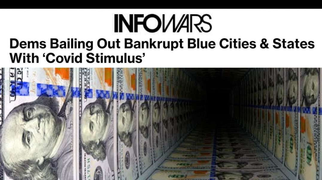 Democrat Stimulus Bill Breaks World Record for Largest Money Heist of All Time