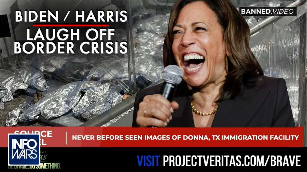 VIDEO- Watch Biden and Harris Celebrate the Collapse of the US Border