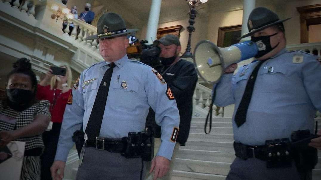 NoNews Coverage Of Democrat Siege Of Georgia Capitol Building