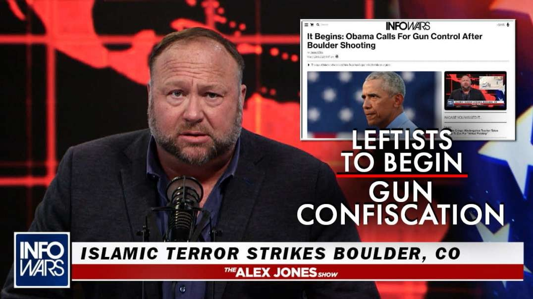 Biden Announces National Gun Confiscation After Jihadi Attacks Boulder Grocery Store