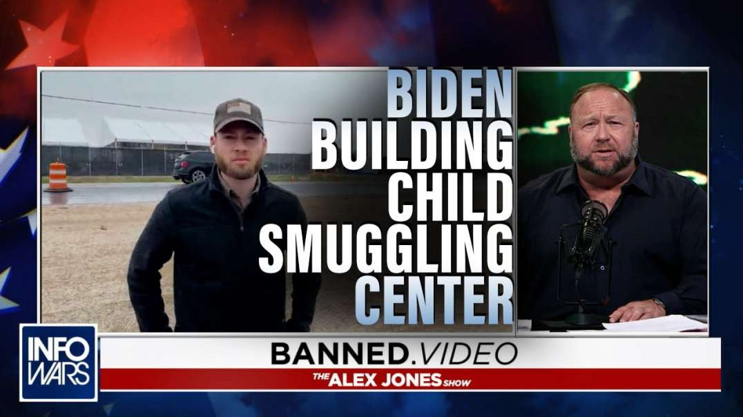 Breaking! Biden Building Giant Child Smuggling Center At Texas Border