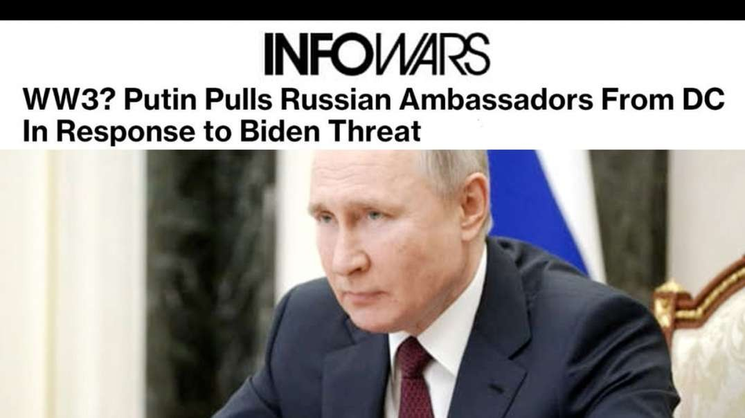 Biden Threatens Putin Risking War with Russia