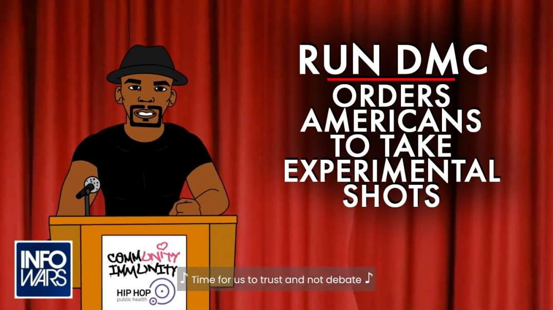 Run DMC Orders Black Americans to Take Experimental Shots