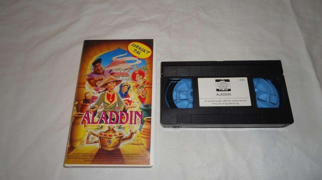 Tecknat Barn Svenska:Aladdin (1992) Bevanfield Films (Norska) Hela Filmen (4K)