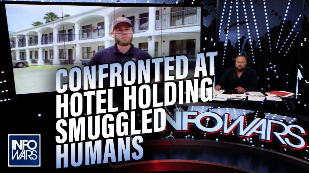 VIDEO- Reporters Confronted When Visiting Hotel Holding Smuggled Humans