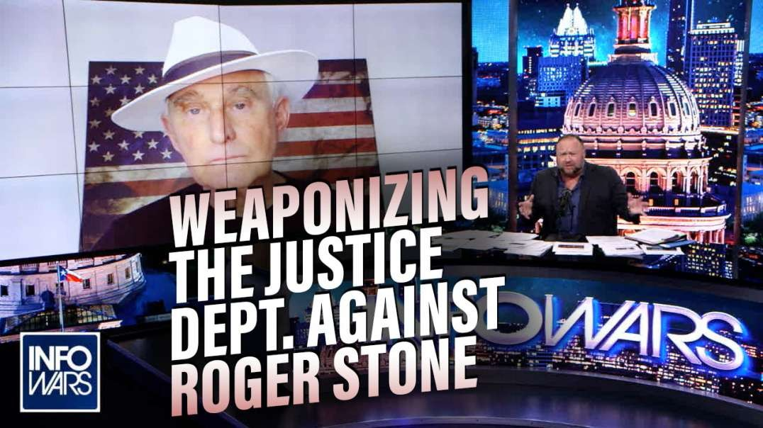 EXCLUSIVE- Roger Stone Responds to Justice Department's Newest Attack
