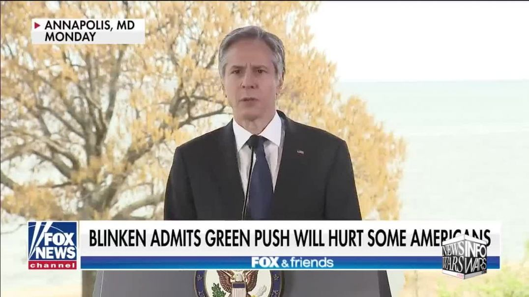 US Secretary of State Blinken Backs Transfer of Power to ChiComs