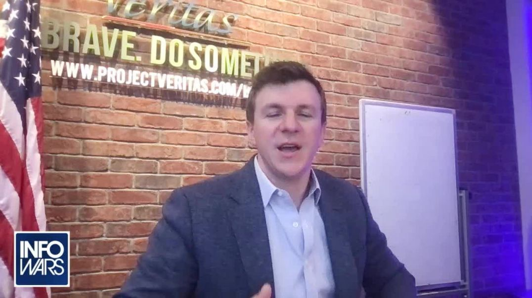 James O'Keefe Announces Huge Victory For Project Veritas in Fight Against Fake News