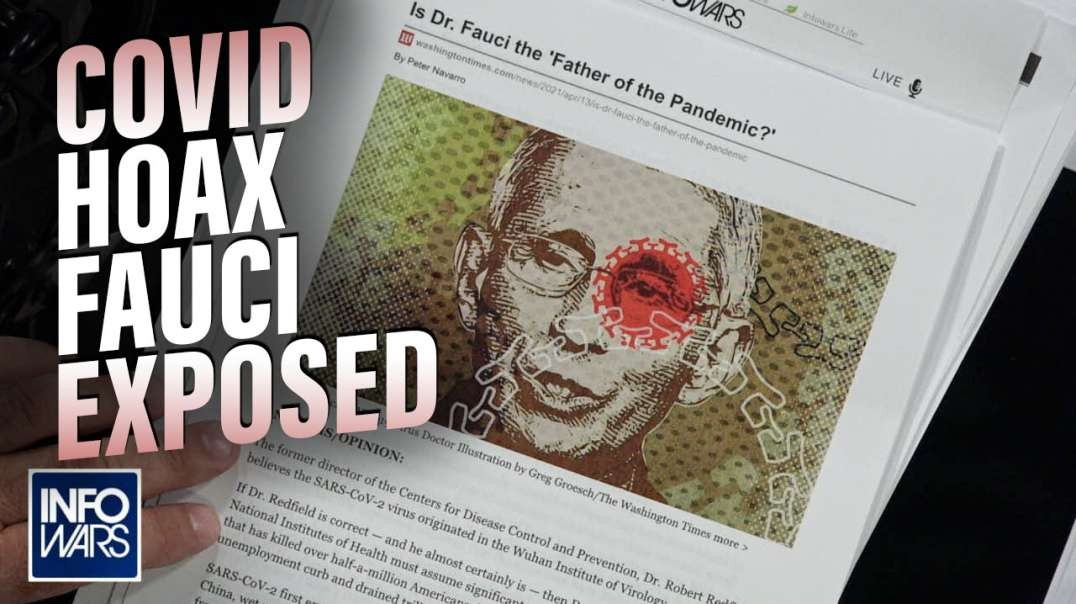 ⁣BREAKING: Fauci 'Father of COVID-19 Pandemic' Says MSM