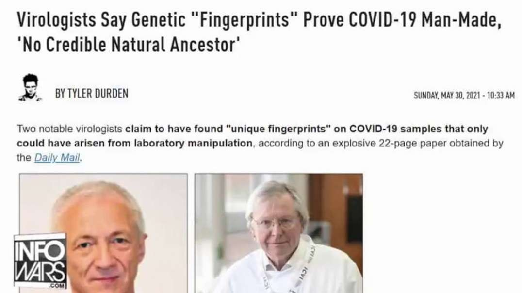 CONFIRMED - Covid 19 'Lab-Made' Says Top UK Virologist