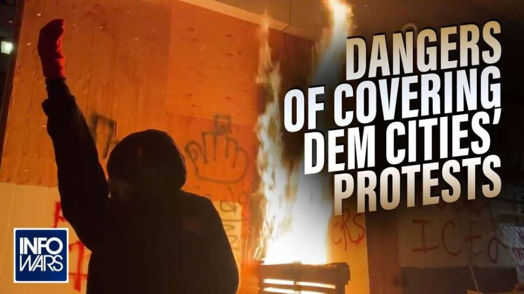 The Dangers Of Covering Democrat Riots and Living In Democrat Cities Exposed