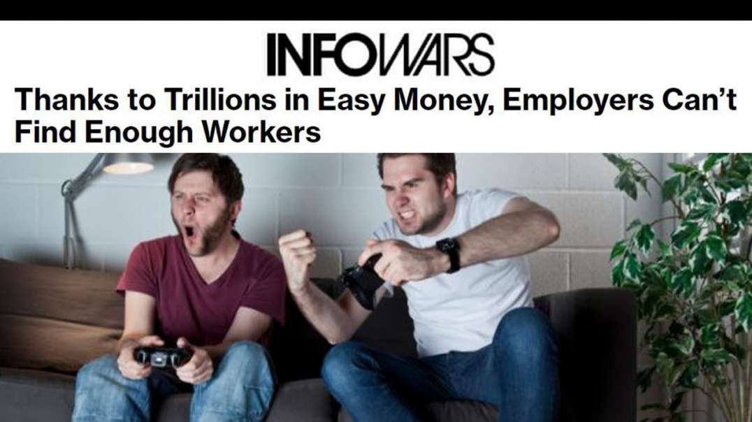 Paying People to Not Work is Causing Predatory Inflation