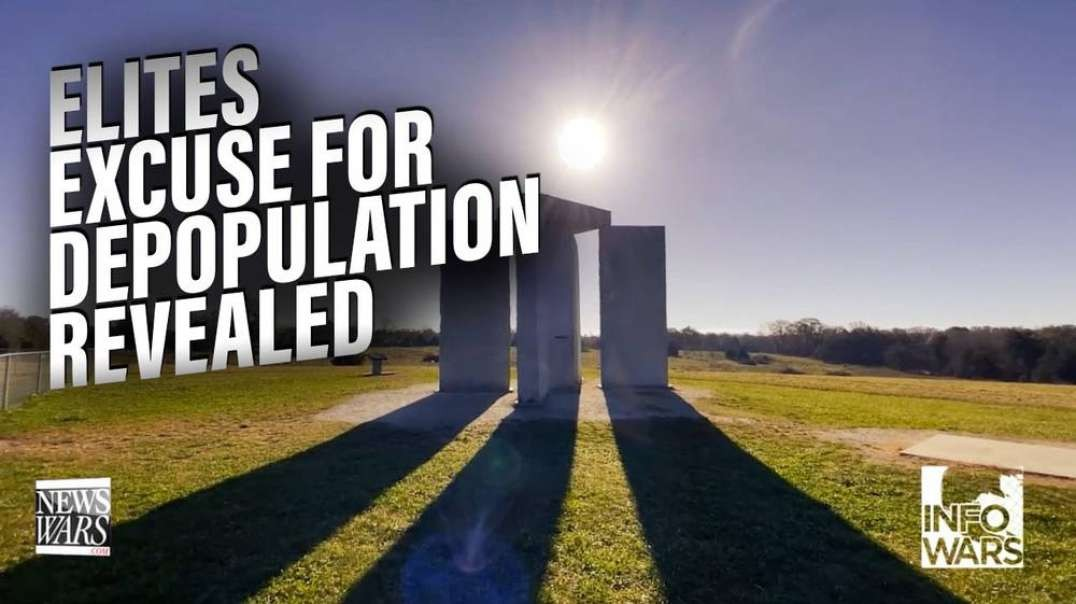 The Elites Excuse For Culling The World Population Revealed