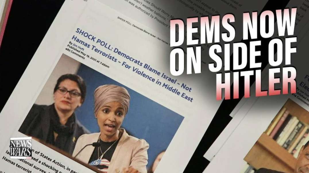 Democrats Now On Kill All Jews Side Of History