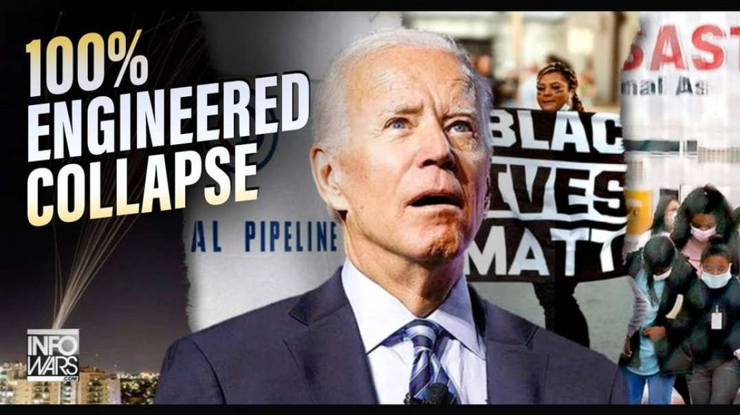 Pipeline Inspector Calls In to The Alex Jones Show- 'It's 100% Engineered Collapse'