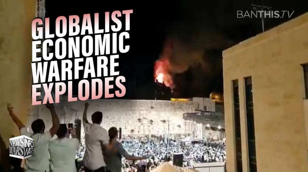 Jerusalem Protests Burst into Flames as Globalist Economic Warfare Explodes