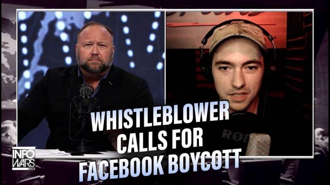 Facebook Whistleblower Calls For Boycott Of Platform