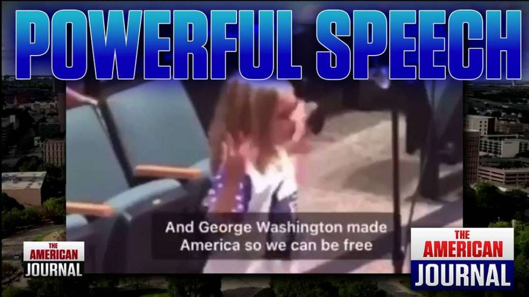 POWERFUL - Little Girl Stands Up For George Washington And God