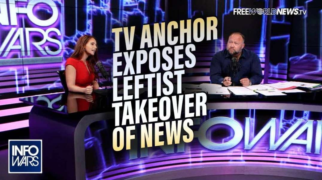 BREAKING EXCLUSIVE- TV Anchor Blows the Whistle on The Left's Takeover of America's News