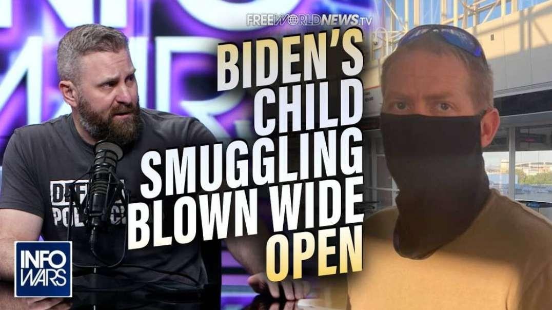 Special Investigation- Biden's Illegal Smuggling of Children Blown Wide Open