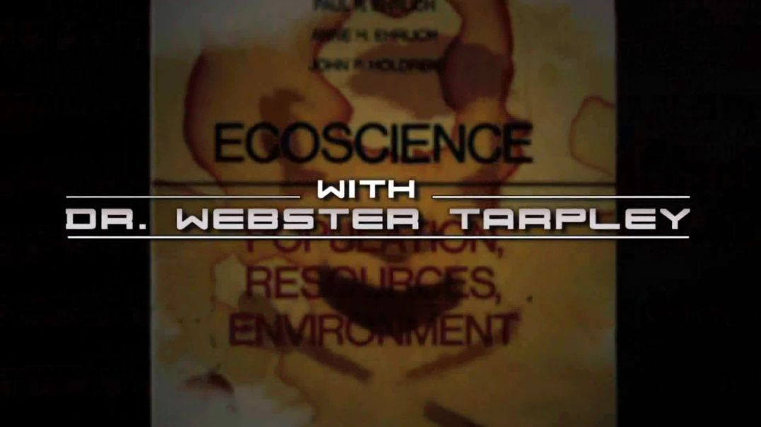 Webster Tarpley Exposes John Holdren's Depopulation Agenda