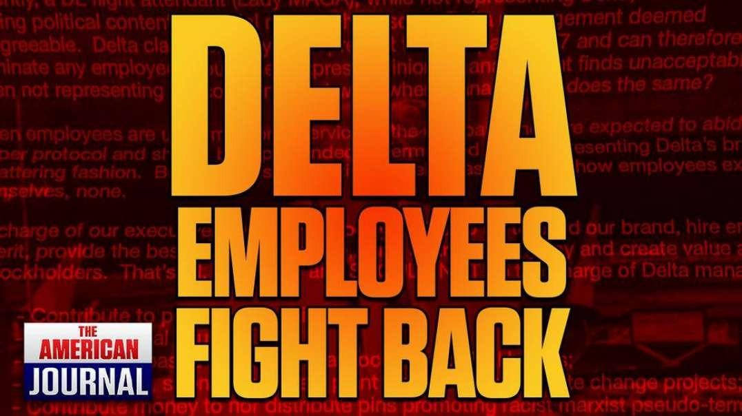 Delta Employees Rebel Against Great Reset Corporate Activism