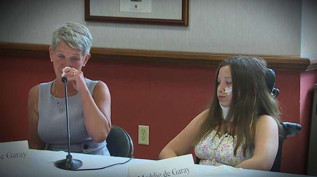 Mother Weeps During Press Conference After Daughter Injured By COVID Vaccine