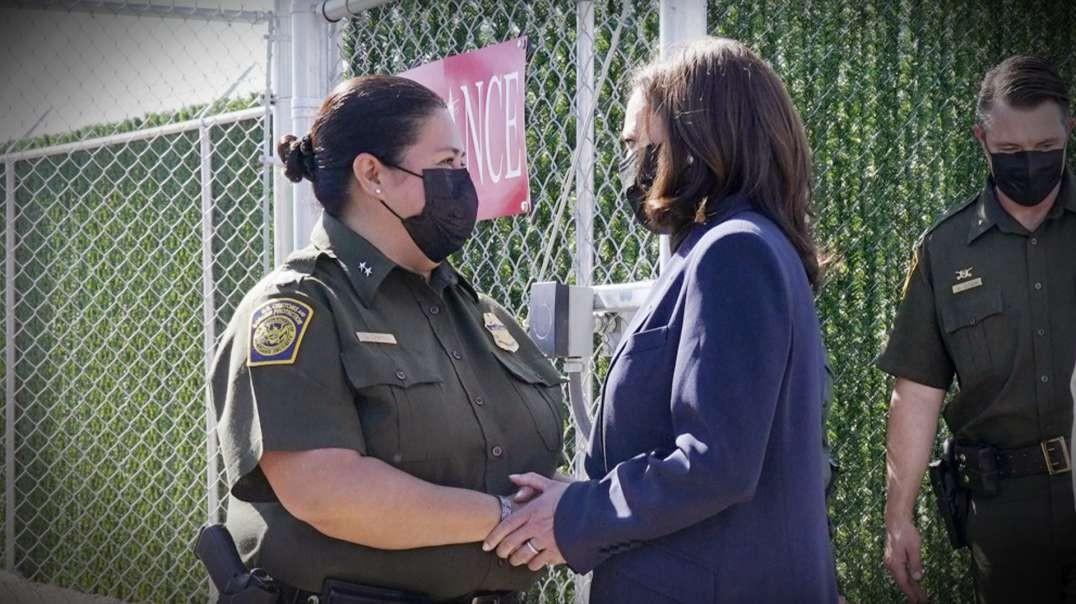 Kamala Harris Does Fake Photo Op Border Visit