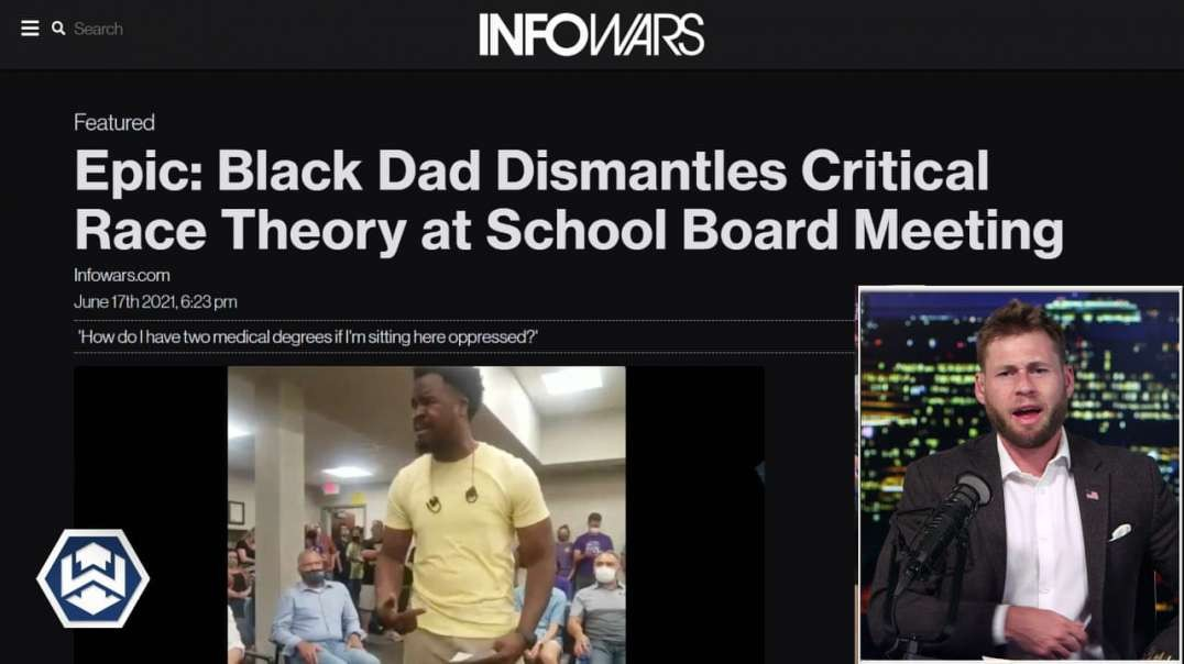 Black Parent Gives Epic Speech On Critical Race Theory