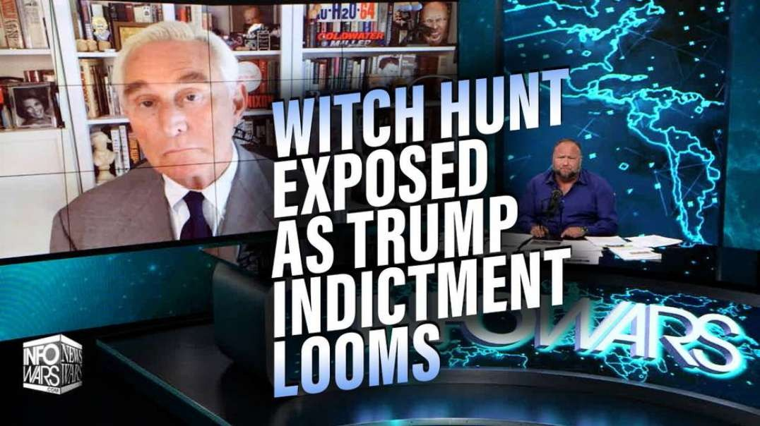 Roger Stone Gives Update on Looming Trump Indictment, Defends Flynn