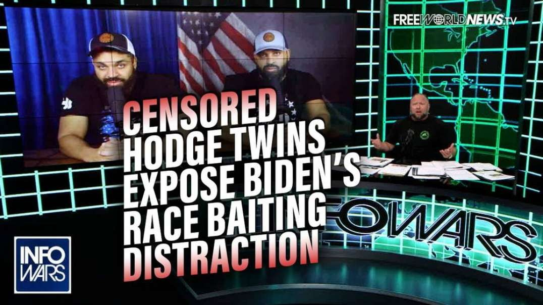 Widely Censored Hodge Twins Expose Biden's Racial Distraction from Election Fraud