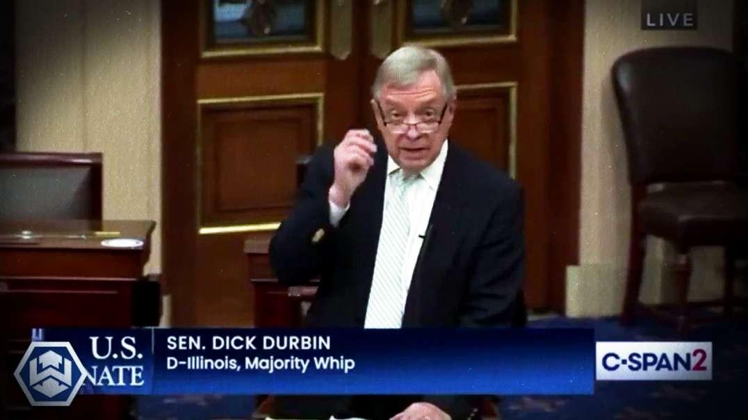 Senator Dick Durban Says The COVID Vaccine Has Killed Millions!