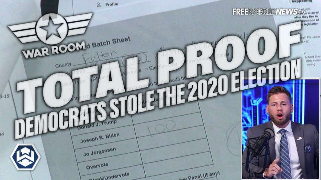 TOTAL PROOF: Democrats Stole The 2020 Election And Here's How