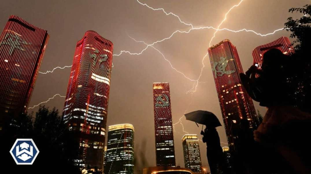 HIGHLIGHTS - China Celebrates 100 Years Of Tyranny With Epic Display Of Weather Weapon