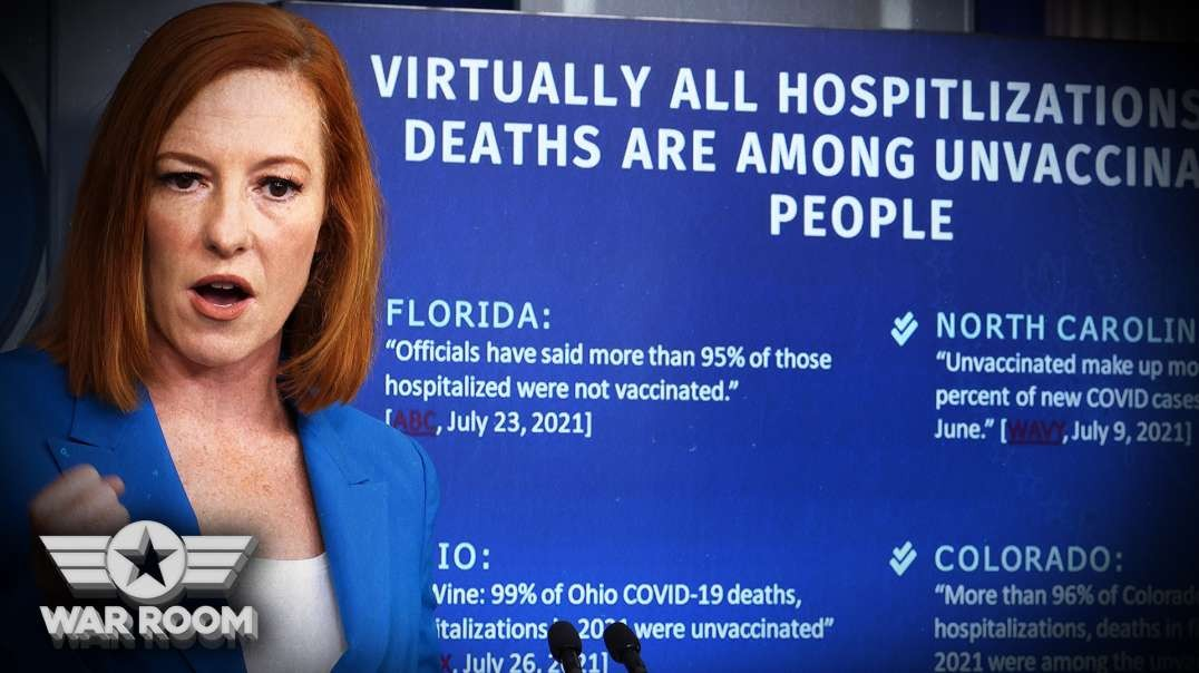 HIGHLIGHTS - Jen Psaki Can't Explain Why People Need To Wear Masks Again