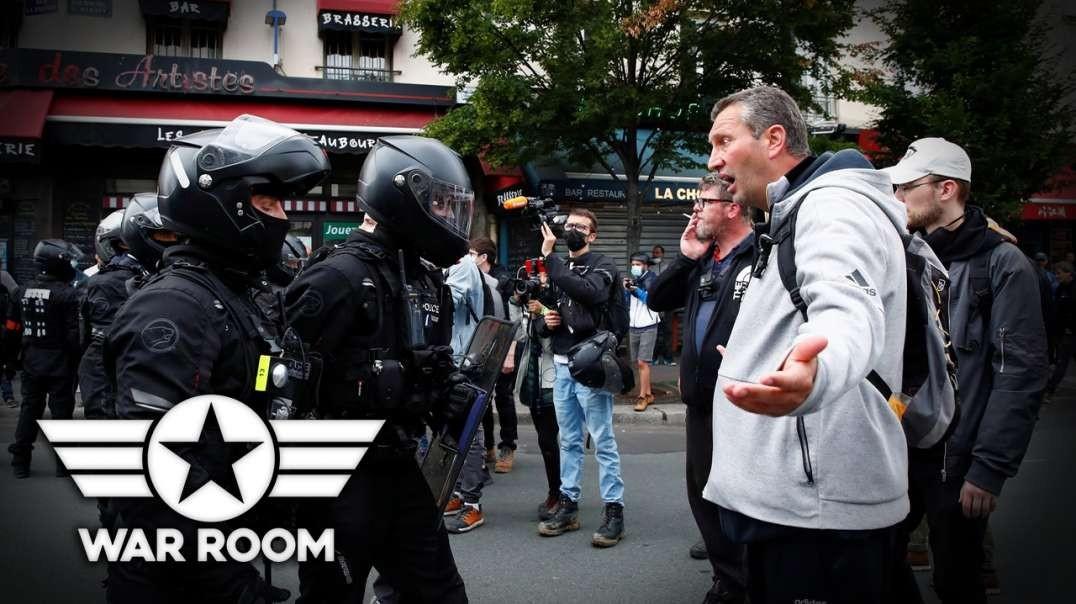 Violent Protests Erupt In France Over Vaccine Mandate